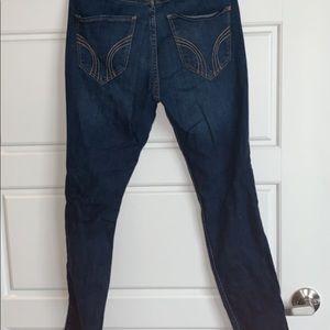 dark holister pants